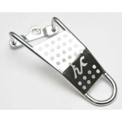 Altrix Basic XL váltóvédő csavaros tengelyhez, acél, ezüst színű