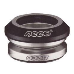 Neco 1 18 colos (28,6 mm) integrált A-head kormánycsapágy, cartridge, fekete