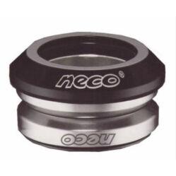 """Neco 1 1/8"""" A-Head integrált MTB kormánycsapágy, cartridge, fekete"""