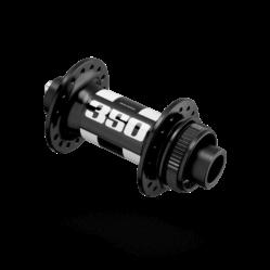 DT Swiss 350 első agy, 32H, tárcsafékes (Centerlock), átütőtengelyes (15 x 100 mm), fekete