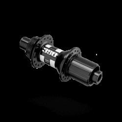 DT Swiss 350 hátsó agy, 32H, tárcsafékes (Centerlock), átütőtengelyes (12 x 142 mm), fekete