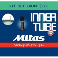 Mitas (Rubena) Slug Self Sealant 24 x 1,5-2,1 (37/54-507) defektvédett belső gumi  AV40 (40 mm hosszú szeleppel, autós)