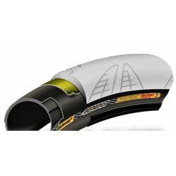 Continental Grand Prix 4000 24x1,0 (571-23) külső gumi (köpeny), defektvédett (Vectran Breaker), kevlárperemes, reflexcsíkos, ezüst-fekete