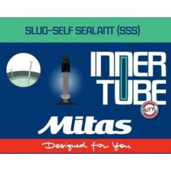 Mitas (Rubena) Slug Self Sealant 26 x 1,5-2,1 (37-54x559) defektvédett MTB belső gumi FV47 (47 mm hosszú szeleppel, presta)