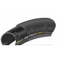 Continental Ultra Sport II 622-25 (700x25C) országúti külső gumi (köpeny), Pure Grip Compound, fekete, 340g