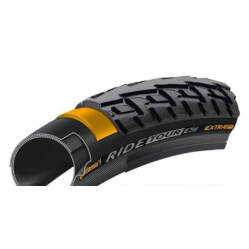 Continental Ride Tour 622-28 (700x28c - 28x1,1) külső gumi, defektvédett (Extra Puncture Belt), reflexcsíkos, 510g