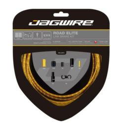 Jagwire Road Elite országúti fékbowden készlet, arany színű