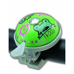 Acor ABE2101 alu csengő, zöld, békás