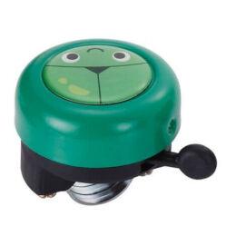 Acor ABE21303 gyerek fém csengő, zöld, békás