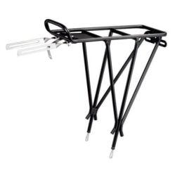 Acor ACR2401 nyeregcsőre szerelhető csomagtartó 25,4-32 mm, fekete