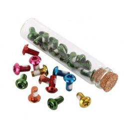 Acor ABR21106 féktárcsa csavar szett, 12 db, T25, M5x10 mm, arany színű