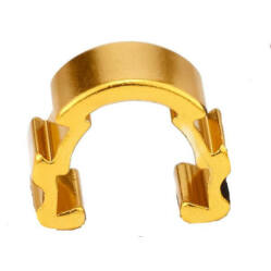 Acor ACB21401 bowden rögzítő, alumínium, 5 db, arany