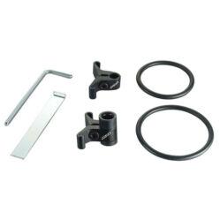 Acor AQR21104 bowden tartó bilincs, 34,9 mm, alumínium, fekete