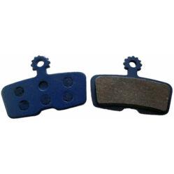 Acor ABS2101 tárcsafék fékbetét Avid Code fékhez, acél alap, fémes pofa, 1 pár