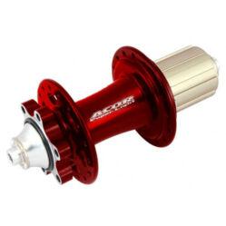 Acor AHU21001R MTB hátsó kerékagy, 32H, tárcsafékes, gyorszáras, ipari csapágyas, piros