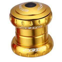 Acor AHS21202 1 1/8 colos (28,6 mm) külső csészés A-head kormánycsapágy, ipari csapágyas, alu csészés, arany színű