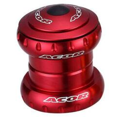 Acor AHS21202 1 1/8 colos (28,6 mm) külső csészés A-head kormánycsapágy, ipari csapágyas, alu csészés, piros