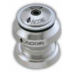 Acor AHS701 1 1/8 colos (28,6 mm) külső csészés A-head kormánycsapágy, golyóskosaras, alu csészés, ezüst színű