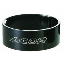 """Acor ASM2710 kormányszár alátét (stucni hézagoló) 28,6 x 10 mm (1 1/8""""), alumínium, fekete"""