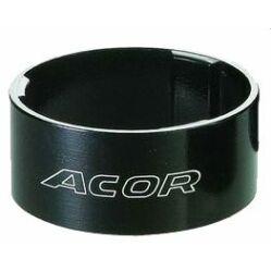 """Acor ASM2710 kormányszár alátét (stucni hézagoló) 28,6 x 15 mm (1 1/8""""), alumínium, fekete"""
