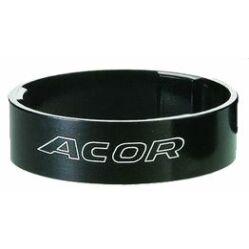"""Acor ASM2710 kormányszár alátét (stucni hézagoló) 28,6 x 5 mm (1 1/8""""), alumínium, fekete"""