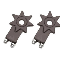 Acor ACA2006 csillag alakú láncfeszítő, 10 mm, párban, fekete