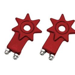 Acor ACA2006 csillag alakú láncfeszítő, 10 mm, párban, piros