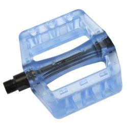 Acor APD21003 műanyag platform pedál, átlátszó kék