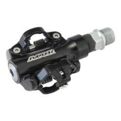 Acor APD21009 Shimano SPD rendszerű ipari csapágyas MTB patentpedál, fekete