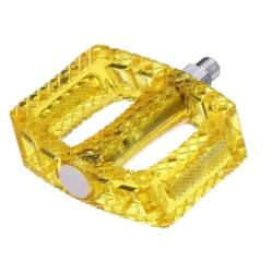 Acor APD21204 műanyag platform pedál, átlátszó sárga