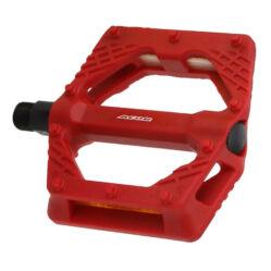 Acor APD21407 műanyag BMX platform pedál, piros
