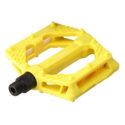 Acor APD21407 műanyag BMX platform pedál, sárga