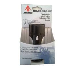 Acor ALT2402 első lámpa, 3 LED, szürke-fekete