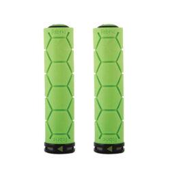 Fabric Silicone Grip bilincses markolat, 135 mm, zöld, fekete bilinccsel