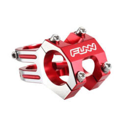 Funn Funnduro A-Head kormányszár (stucni), 31,8x45 mm, 0 fok, alumínium, piros