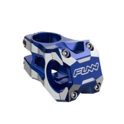 Funn Strippa Evo A-Head kormányszár (stucni), 31,8x45 mm, 0 fok, alumínium, kék