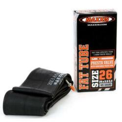 Maxxis Fat Tube 26 x 3,8-5,0 (70/127-559) fatbike belső gumi 40 mm hosszú szeleppel, presta