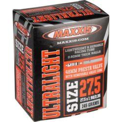 Maxxis Ultralight (0,6 mm) 27,5 x 1,9/2,35 (48/60-584) MTB belső gumi 48 mm hosszú szeleppel, presta
