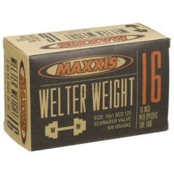 Maxxis Welter Weight (0,9 mm) 16 x 1,9/2,125 (48/54-305) MTB belső gumi 32 mm hosszú szeleppel, autós