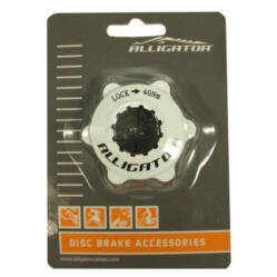 Alligator CenterLock adapter, fehér