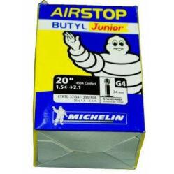 Michelin Airstop G4 20 x 1,5-2,1 (37/54-406) BMX belső gumi 34 mm hosszú szeleppel, autós