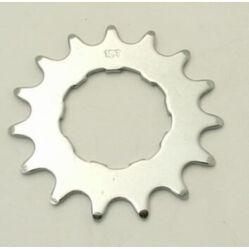 Novatec kazettás single speed hátsó lánckerék, 15T, acél, 2,3 mm