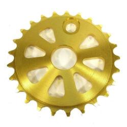 Prowheel BMX lánckerék, 25T, CNC alu, arany színű