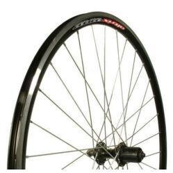 Altrix Spider országúti hátsó kerék, gyorszáras tengellyel, kazettás lánckeréksorhoz, fekete