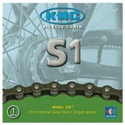 KMC S1 Low Noise single speed kerékpár lánc, 1s (1/8 col - széles), 112 szem