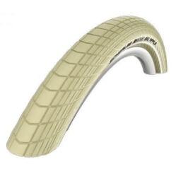 Schwalbe Big Apple HS430 29x2,0 (50-622) külső gumi, defektvédett (K-Guard), reflexcsíkos, krém színű, 930g