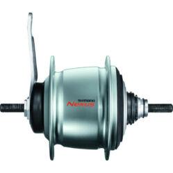 Shimano Nexus SG-C6000-8 agyváltós hátsó kerékagy, 8s, 36H, kontrafékes, ezüst