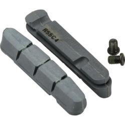 Shimano R55C4 országúti fékbetét gumi karbon felnihez, két pár