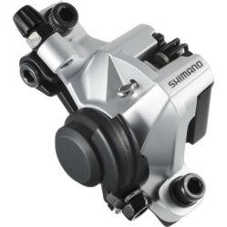 Shimano Altus BR-M375 MTB mechanikus tárcsafék, féktárcsa nélkül, ezüst