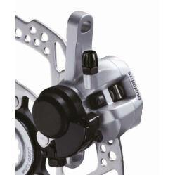 Shimano BR-R317 cyclocross mechanikus tárcsafék, féktárcsa nélkül, első, ezüst